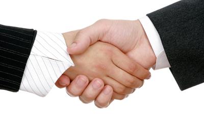 Print Consultancy Handshake