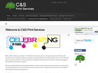 candsprint.com screenshot