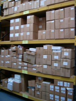 warehouse allows us to offer print managment services