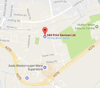 C&S Print Services Ltd – Google Maps
